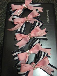 Big and Little bows for the whole family!