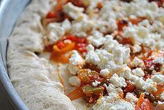 Νηστίσιμη πίτσα - Χρυσές Συνταγές Food, Essen, Meals, Yemek, Eten