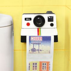 Need this in our bathroom - Polaroll Paper