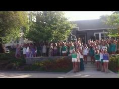 We Got More Bounce in Chi Omega- Cal Poly San Luis Obispo Door Song