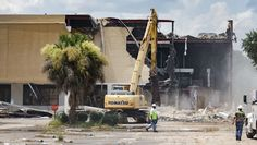 Tallahassee's first indoor mall being demolished for police HQ Florida State University, Great Places, Mall, Police, Indoor, Interior, Law Enforcement, Template