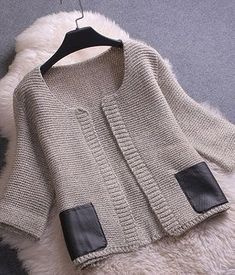SENS Best Quality Women Knitted Casual Outerwear New Arrival 2015 Autumn Fashion Female Short Cardigan Sweater Best Cardigans, Cheap Cardigans, Cardigans For Women, Coats For Women, Cardigan Fashion, Knit Fashion, Look Fashion, Autumn Fashion, Pullover Mode