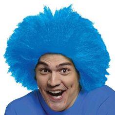 Костюмы клоуна с синим париком