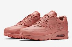http://SneakersCartel.com Tumbled Leather Is Featured On The NikeLab Air Max 90 Pinnacle Rose Pink #sneakers #shoes #kicks #jordan #lebron #nba #nike #adidas #reebok #airjordan #sneakerhead #fashion #sneakerscartel