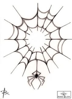 Spider Web Tattoo Graphics, Pictures, & Images for Myspace Layouts