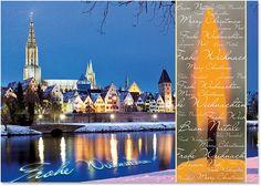 Weihnachtskarte Ulm Nr. 515