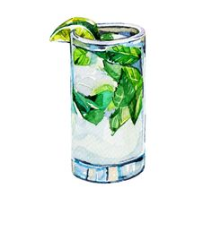 Cocktails for Lonely Planet *New* - Holly Exley Illustration