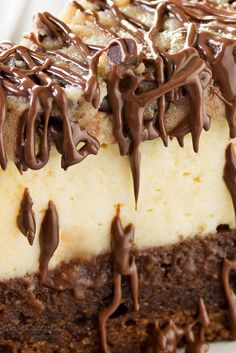 Cookie Dough Cheesecake, Cheesecake Bars, Cheesecake Recipes, Chocolate Chip Cookie Dough, Melting Chocolate, Cupcakes, Cupcake Cakes, Ultimate Cheesecake, Frosty Recipe