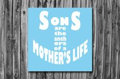 Wrapped Canvas Wall Art  Sons are the by ImagoDesignsCanvases, $29.00  creative design