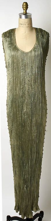Dress  Mariano Fortuny, 1939  The Metropolitan Museum of Art