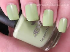 Midnight Manicures: Jessica Cosmetics - Gelato Mio! Summer 2012 Nail Colours Collection