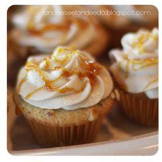 Hazelnut Creme Brulee Cupcakes