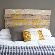Pallet Headboard - Option 2 (painted image)