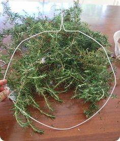 Easy rosemary wreath                                                                                                                                                                                 More