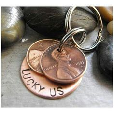 Collect a penny from the year you met and the year you got married. Its a cute keep sake.