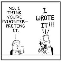 Misunderstood - a writer's comic - Writers Write Creative Blog