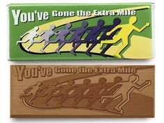 You have gone the extra mile - Chocolate Wrapper Bar