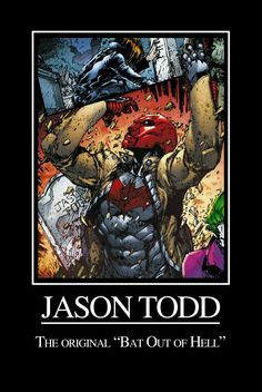 Jason Todd: Bat Out of Hell by *ElvenWhiteMage on deviantART