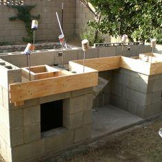 create concrete countertop forms