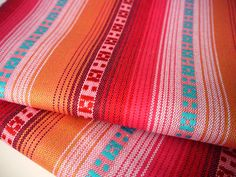 Tribal Fabric Latin American Woven Fabric / Peruvian Argentina woven textiles