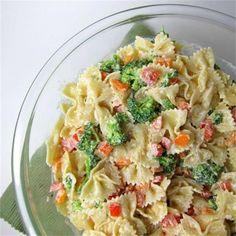 Broccoli Ranch #Pasta #Salad by @yayitskate