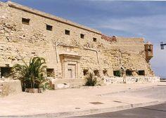 Fuerte de Victoria Grande.Historia negra de España.Melilla .Spain .