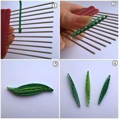 3 ways to make quilling leaves using combing technique …. detailed pictorial &… 3 ways to make quilling sheets in … Quilling Comb, Paper Quilling Flowers, Paper Quilling Patterns, Paper Quilling Jewelry, Neli Quilling, Quilled Paper Art, Quilling Paper Craft, Quilled Roses, Paper Crafts