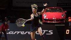 Laura Siegemund takes Stuttgart Tennis Racket, In This Moment, Sports, Fashion, Stuttgart, Hs Sports, Moda, Fashion Styles, Sport