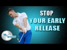 Stop Your Early Release Drill - YouTube