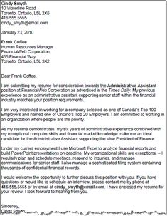 good cover letter with bullet points. candidate needed to add ... - Example Of Cover Letters For Resume