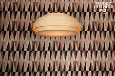 Grand plafonnier Bamboo