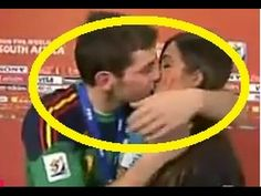 Spanish Footballer kiss the News Anchor during live interview - Captain ...