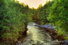This shows Wilson Stream as seen in Willimantic, Maine, part of the wilderness area of Piscataquis County.