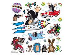 Little Mole wall stickers Wall Decorations Hele Krtek nalepky na stenu Wall Stickers Baby Girl, Wall Stickers Grass, 3d Mirror Wall Stickers, Flower Wall Stickers, Diy Stickers, Vinyl Wall Stickers, Vinyl Art, Disney Doodles, Taupe
