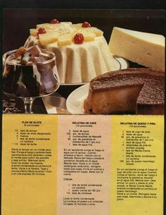 Gelatin Recipes, Jello Recipes, Mexican Food Recipes, Cake Recipes, Dessert Recipes, Jello Desserts, Sweet Desserts, Delicious Desserts, Yummy Food