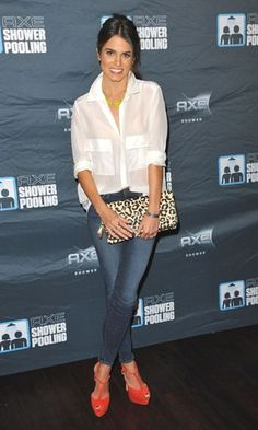 Look of the day | Nikki Reed wearing Me Char at AXE's Showerpooling event | InStyle UK