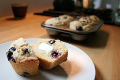 Blueberry Corn muffins from Pioneer Valley Heritage Grains