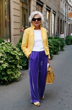 ADVANCED STYLE: Spring in Milan