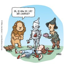I'm in love with twisted Wizard of Oz :D
