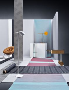 The expressive Colibrì Floor Lamp from Foscarini stands out from the crowd in this shot from Italian photographer Beppe Brancato http://www.nest.co.uk/browse/brand/foscarini/foscarini-colibr%C3%AC-floor-lamp