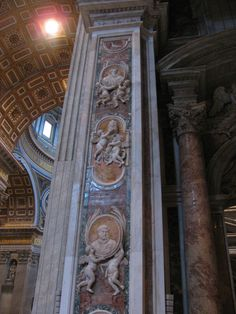 St. Peter's Basilica, Rome, Octoer 2010   by andrei deev