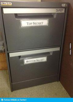 Top Secret and Bottom Secret.