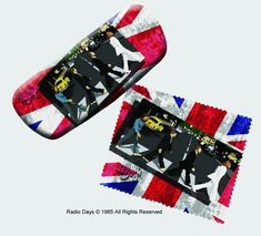 The Beatles Eyeglass Case and Cleaner