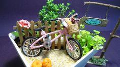 Feito Jardim Miniaturas: Aprenda como fazer seu próprio Mini Jardim!