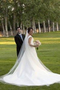 vestido de novia basaldua