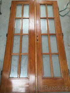 Staré prosklené dveře - 1