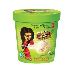 Inspired by her proud East Indian ancestry, Rosy Soobrattee's delectable Kulfi Karma ice cream is made with real cream, pistachio nuts, cardamom, sweetened condensed milk and rose water flavour. Kulfi, Condensed Milk, Rose Water, Pistachio, Dog Food Recipes, Ice Cream, Ancestry, Season 1, Presidents