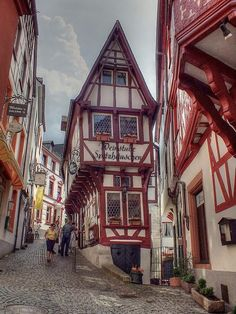 Bernkastel-Kues, Rottenberg, West Germany by jurek1951 I love Rottenberg!!!