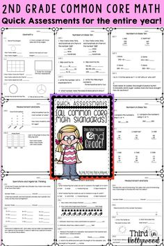 Common core standards writing assessment