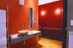 Miscelleaneous eclectic-bathroom